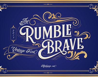 FREE - RUMBLE BRAVE