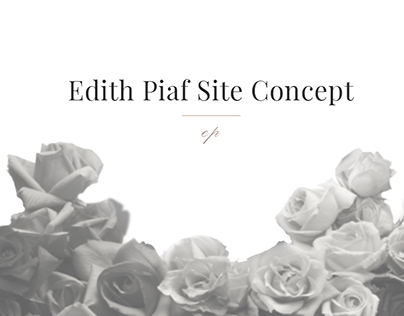 Edith Piaf Website