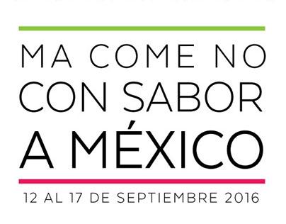 MaComeNo con sabor a México