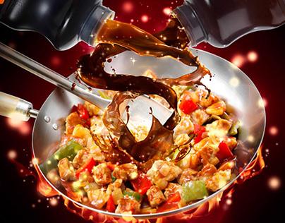 HP & Lee Perrins | Chinese Food Campaign