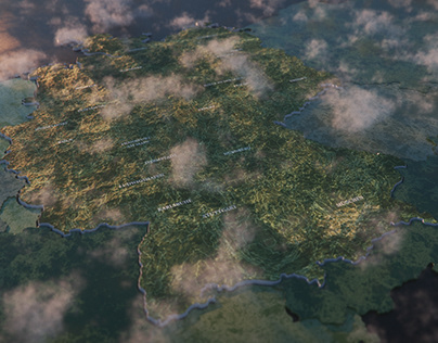 Styleframes - Map of Germany