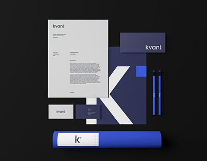 Kvant - Brand Identity, Web Design