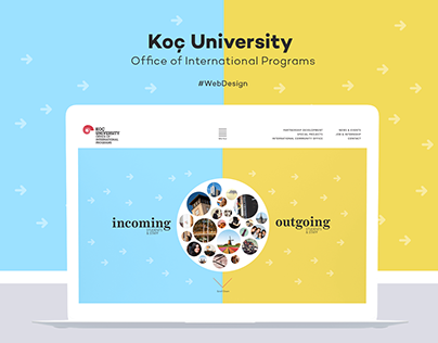 Koç University OIP Website Design