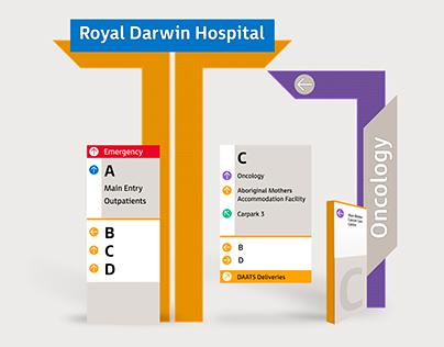 Royal Darwin Hospital: Wayfinding
