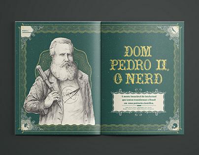 D. Pedro II: O Nerd - Editorial Design