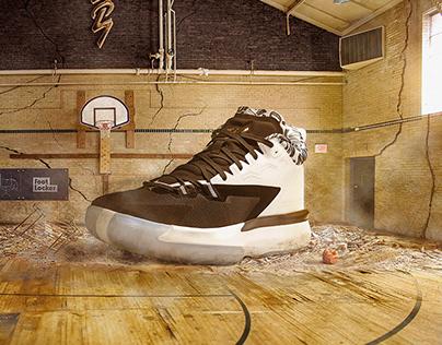 Foot Locker® Sneaker Photo Composites