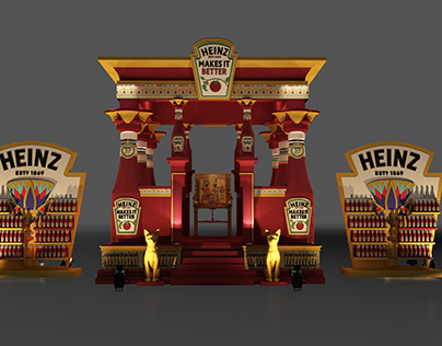 Discover HEINZ with an ancient Egyptian concept .
