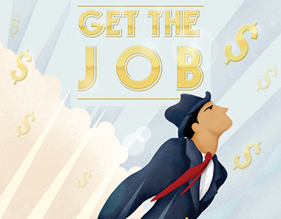 Get The Job Cover Illustrations