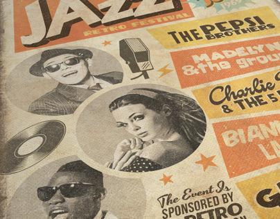 Retro Jazz Flyer