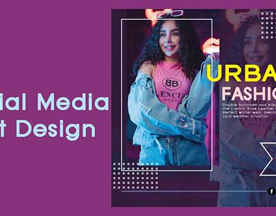 social media post design photoshop