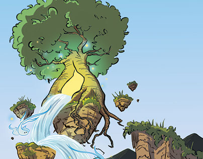 Magical Floating Tree