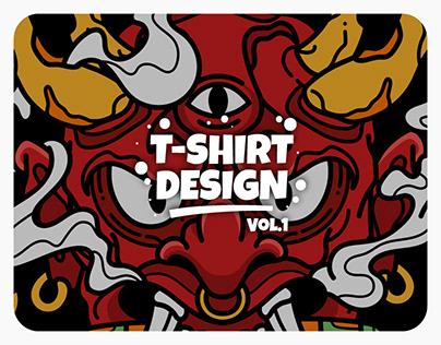 T-shirt Design Vol. 1