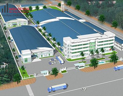 Thiết kế thi công xây dựng nhà xưởng kho tại Bình Dương