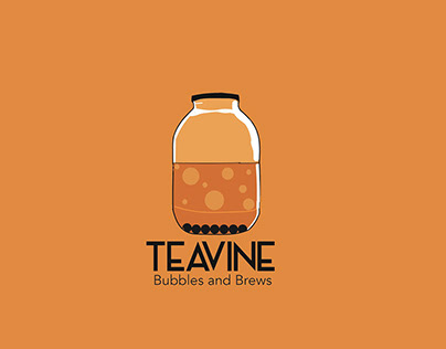 TEAVINE Bubbles and Brews - Visual Identity Style Guide