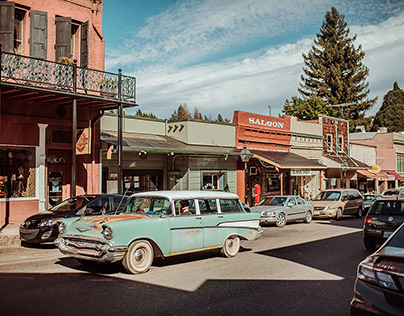 Nevada City With The Folk Singer Mariee Sioux
