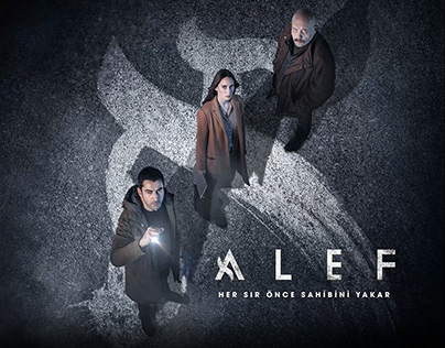 Alef | Motion Poster #2 (in co-operation with 70X100)