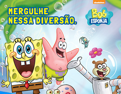 Floripa Shopping :: Evento Bob Esponja