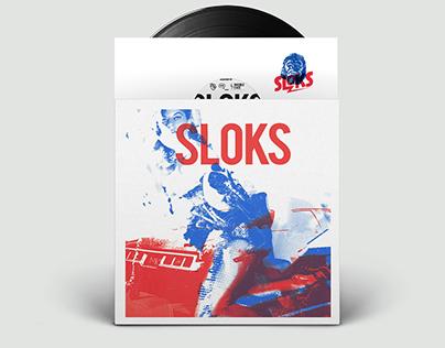 SLOKS EP Risograph Print