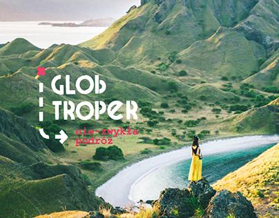 GlobTroper / Brand Identity / Web Design