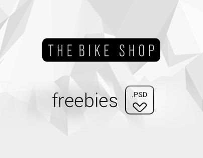 THE BIKE SHOP THEME - Freebie PSD