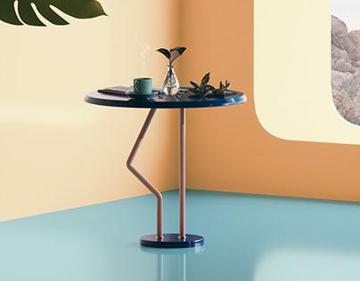Flamingo Coffee Table