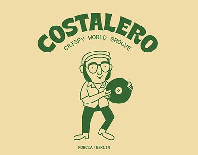 Costalero Logo design