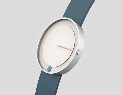 Minimalist watch line-circle