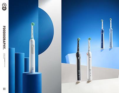 个人护理摄影Electric toothbrush | Oral-B欧乐B电动牙刷 ✖ foodography