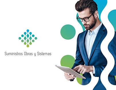 Suministros Obras y Sistemas (Branding)