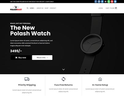 WordPress E-commerce Website Online Store!