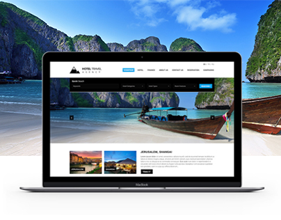 Hotel Travel Agency | Travel Web Design