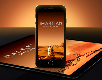 THE MARTIAN: Official Game marketing assets