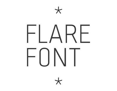 Flare font family