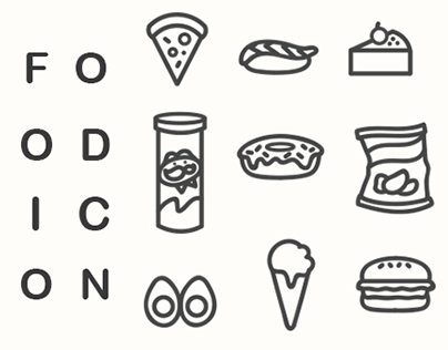 Foodie Icons: Available for Download.