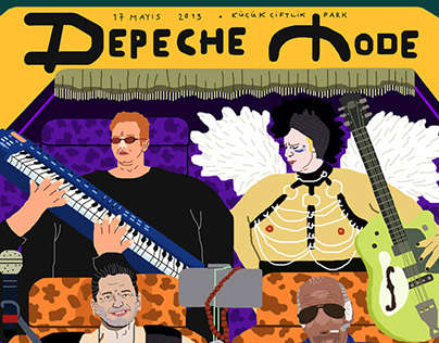 Dream Gigs Illustrated // Depeche Mode