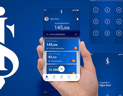 İş Bankası Mobile App UI & UX