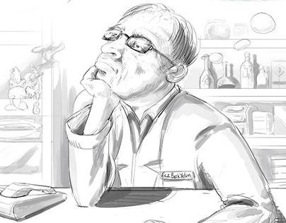regretful chemist