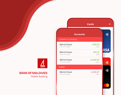 BML Mobile Banking (Redesigned Concept)