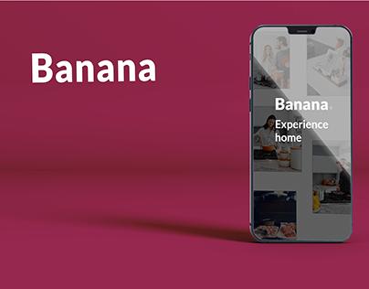 Banana App - UI design
