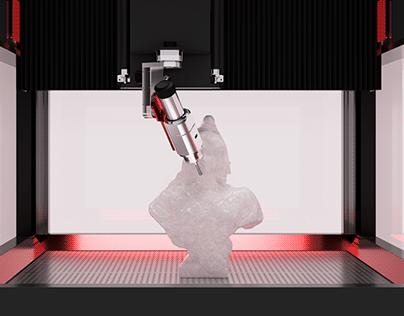 5-axis CNC Milling Machine & Enclosure