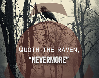 """The Raven"" Poster Design"