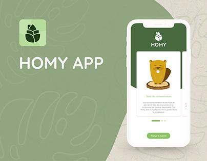 Homy (Eco App)