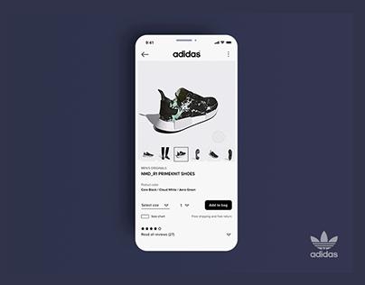 ADIDAS APP | Online Store
