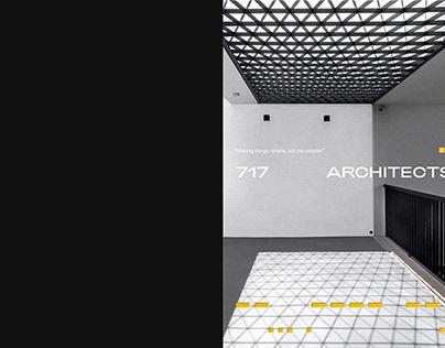 717 Architects / Brochure Design
