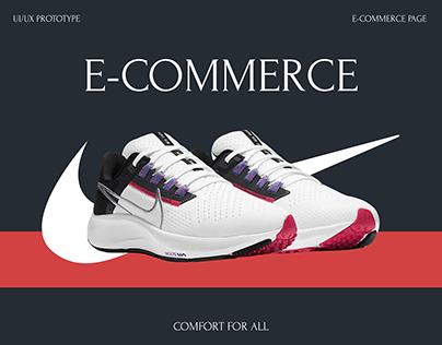 E-commerce | Nike sneakers product page
