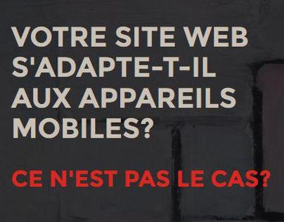 Votre site web s'adapte-t-il aux appareils mobiles?