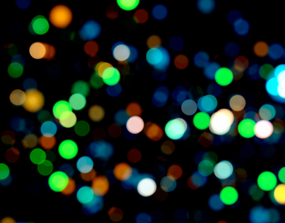 Bokeh Night 2 - Seamless Loop / HD,4K