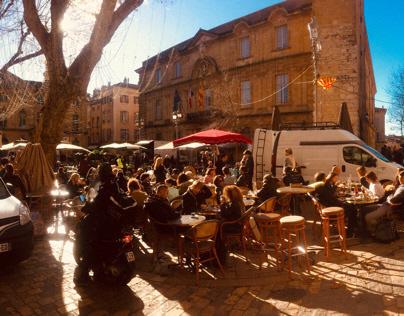 ほぼ一年 Aix-en-Provence France