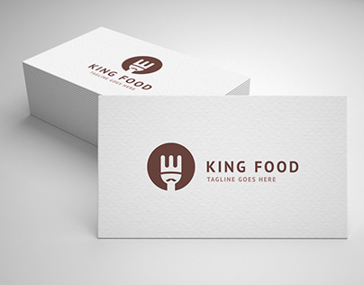 king food logo template for sale