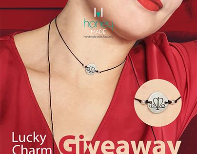 Handmade jewellery HoneyMade graphic design